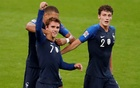 Griezmann double gives France comeback win over Germany