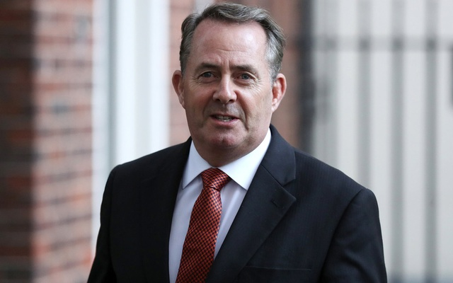 Britain's Secretary of State for International Trade Liam Fox leaves Downing Steet, London, Britain, Oct 9, 2018. Reuters