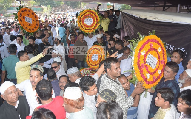 Ayub Bachchu laid to rest in Chattogram amid outpouring of love, tribute