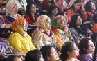 Participants from across the country attend the third national conference of Bangladesh Nari Sangbadik Kendra, which was held after 11 years. Photo: Abdullah Al Momin