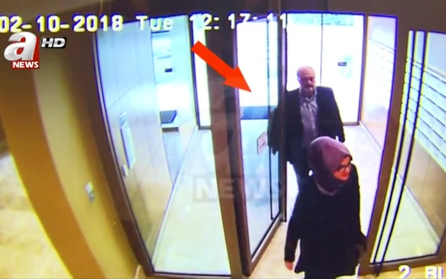 Video appears to show Khashoggi's 'body double' leaving Saudi consulate