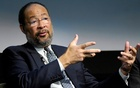 Richard Parsons speaks at a forum titled