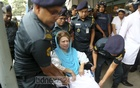 BNP Chairperson Khaleda Zia is brought back to her cabin on Monday after medical tests at the BSMMU's Anatomy Department. A court has sentenced her to seven years in prison in a graft case. Photo: Mahmud Zaman Ovi