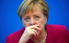 German Chancellor Angela Merkel attends a board meeting following the Hesse state election in Berlin, Germany, Oct 29, 2018. REUTERS