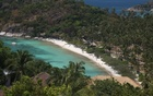 an aerial view of Koh Tao in 2014. The New York Times