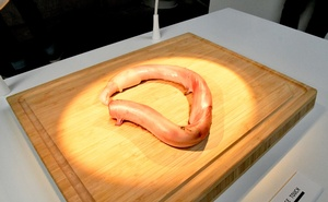 A Chinese bull penis is displayed at the Disgusting Food Museum in Malmo, Sweden November 1, 2018. Reuters