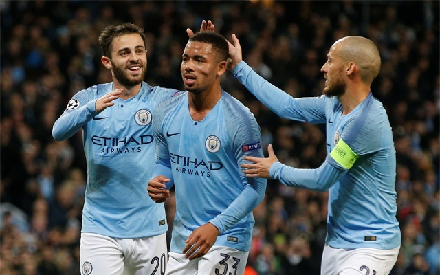 Jesus hits hat-trick as rampant Man City crush Shakhtar 6-0