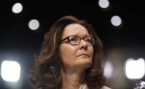 Gina Haspel, now the CIA director, testifies before the Senate Intelligence Committee on Capitol Hill in Washington, May 9, 2018.  A Saudi operative's comments to a royal aide after the killing of the journalist Jamal Khashoggi is among the strongest evidence yet tying Crown Prince Mohammed bin Salman to his death. The call was part of a recording that Turkish officials played for Haspel during her visit in Oct to Ankara, Turkey. The New York Times