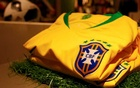 Aldyr Schlee was 19 when he won a newspaper contest for his design of the Brazilian national soccer team jerseys. He died on Thursday. Reuters