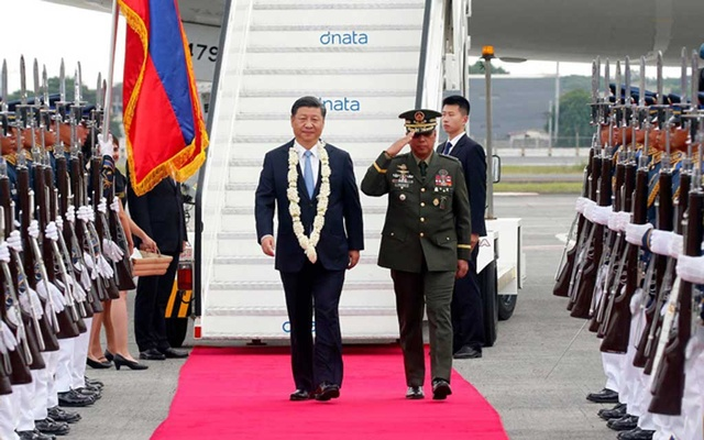 President Xi Jinping of China arrived in Manila on Tuesday for a two-day visit to meet with President Rodrigo Duterte and strengthen bilateral relations with the Philippines. The New York Times