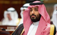 Saudi Crown Prince Mohammed bin Salman attends a session of the Shura Council in Riyadh