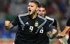 Goal in each half gives Argentina second win over Mexico