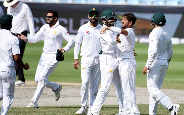 Yasir Shah flies high in Test career bowling with eight wickets