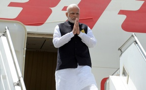 India's Prime Minister Narenda Modi arrives ahead of the G20 leaders summit in Buenos Aires, Argentina November 29, 2018. Argentine G20/Handout via REUTERS