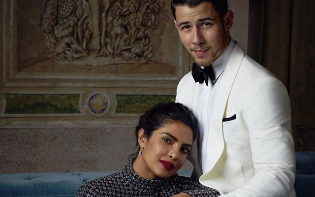 File Photo: Priyanka Chopra and Nick Jonas. Courtesy of Alexi Lubomirski/ Ralph Lauren via People