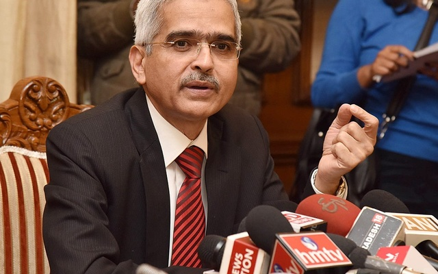 Shaktikanta Das. Photo: Press Information Bureau, Government of India