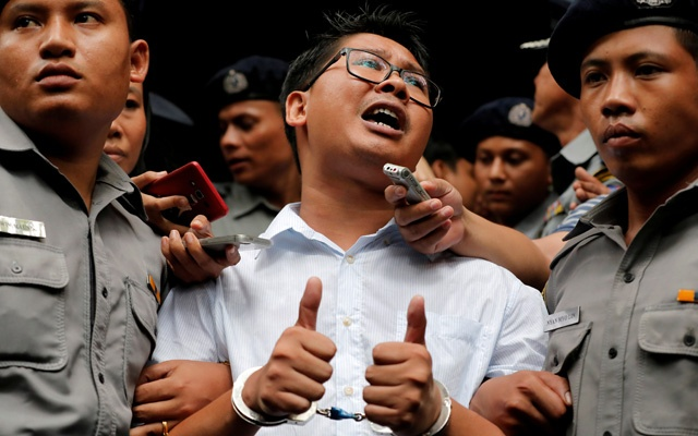 Number of journalists jailed for doing job near record high