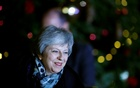 Britain's Prime Minister Theresa May arrives back at 10 Downing Street, in London, Britain December 12, 2018. Reuters