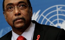 Sidibe Executive Director of UNAIDS looks on during the launch of the UNAIDS 2010 in Geneva. REUTERS