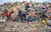 Representational Image: Cleaners and their children sort garbage at a dump site in Guiyang, Guizhou province, February 21, 2015. Reuters