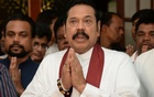 Sri Lanka's former leader Mahinda Rajapaksa attends a religious ceremony after he resigned from the prime minister post in Colombo, Sri Lanka December 15, 2018. REUTERS