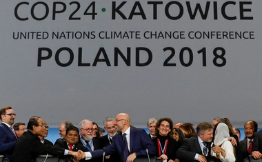 Final session of the COP24 UN Climate Change Conference 2018 in Katowice. Reuters