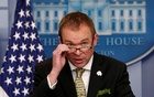 File Photo: White House Office of Management and Budget Director Mick Mulvaney speaks about of US President Donald Trump's budget in the briefing room of the White House in Washington, US, Mar 16, 2017. REUTERS/Kevin Lamarque/File Photo