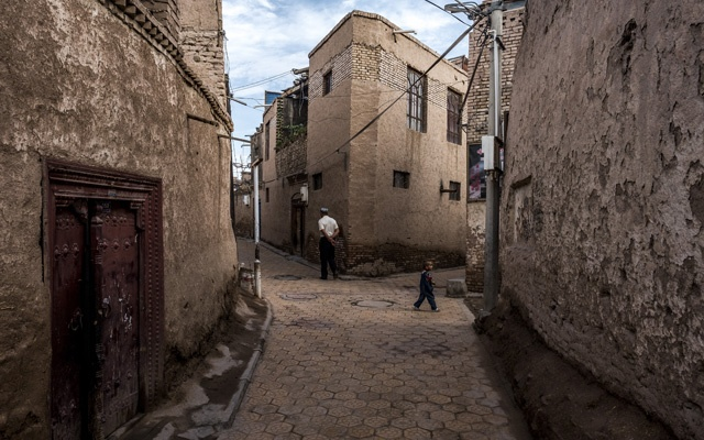 The old city of Kashgar, China, where officials set a goal of sending 100,000 camp inmates to work in factories in 2018, Jul 4, 2017. The New York Times