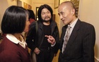 Meng Lang, centre, at a 2003 event at Harvard University marking the 14th anniversary of the 1989 Tiananmen Square crackdown in Beijing. The New York Times
