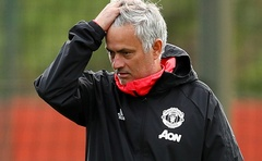 FILE PHOTO: Champions League - Manchester United Training - Aon Training Complex, Manchester, Britain - Oct 1, 2018 Manchester United manager Jose Mourinho during training Action Images via Reuters/Jason Cairnduff/File Photo