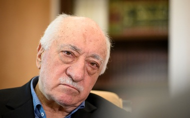 US-based cleric Fethullah Gulen at his home in Saylorsburg