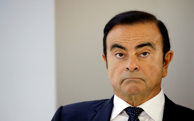 Carlos Ghosn, chairman and CEO of the Renault-Nissan-Mitsubishi Alliance, attends a press conference on the second press day of the Paris auto show, in Paris, France, Oct 3, 2018. REUTERS