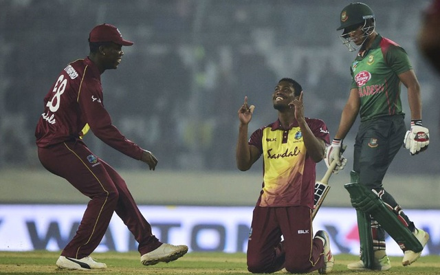 Carlos Brathwaite makes case after questioning no-balls
