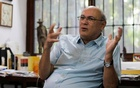 Journalist Carlos Fernando Chamorro, critic of the government of President Daniel Ortega speaks during an interview with Reuters in Managua, Nicaragua Dec 24, 2018. REUTERS