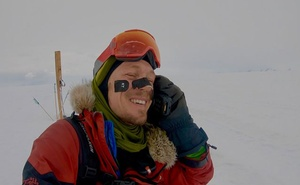 In a photo from Colin O'Brady, the athlete completes his trek, on day 54 of his trip across Antarctica, Dec 26, 2018. O'Brady covered the final 77.5 miles of his 921-mile journey without sleeping and became the first person ever to traverse Antarctica from coast to coast solo, unsupported and unaided by wind. The New York Times