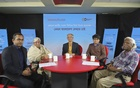 Discussants at a special event on the parliamentary elections co-organised on Thursday by bdnews24.com and Deutsche Welle on how they want to see Bangladesh.