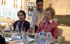 The daughter of Dubai's ruler, Latifa bint Mohammed al-Makhtoum, with Mary Robinson, a well-known human rights advocate, in a photo released by Dubai. The New York Times