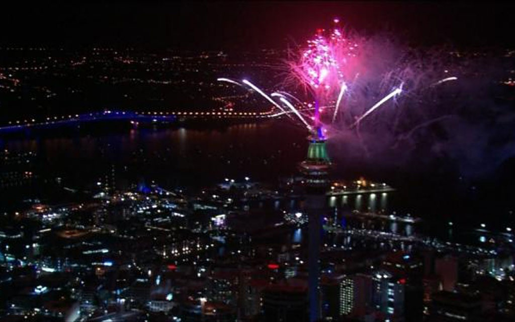 The north island city of Auckland was one of the first countries in the world to welcome 2019.