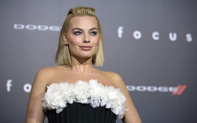 File Photo: Cast member Margot Robbie poses at the premiere of