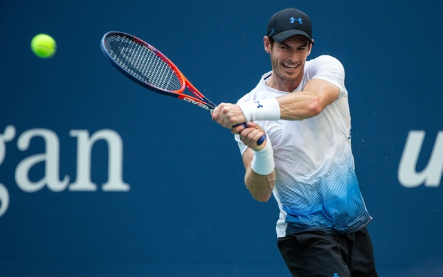 Britain's Andy Murray during second round play at the US Open in New York, Aug 29, 2018. The New York Times