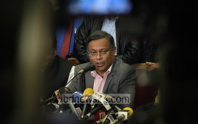 Information Minister Hasan Mahmud (File Photo)