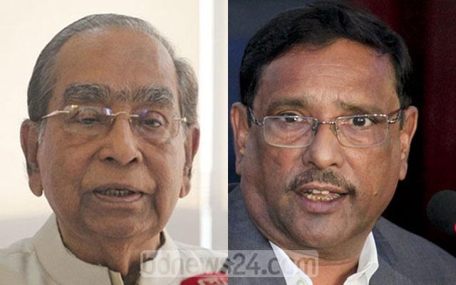 HT Imam and Obaidul Quader