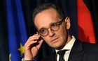 FILE PHOTO: Germany's Foreign Minister Heiko Maas looks on during a 'Global Ireland' news conference in Dublin, Ireland Jan 8, 2019. REUTERS/Clodagh Kilcoyne/File Photo