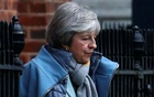 Britain's Prime Minister Theresa May leaves Downing Street, London. REUTERS