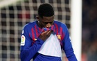 Barca's Dembele sidelined for two weeks with injury