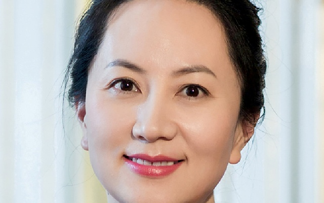 FILE PHOTO: Meng Wanzhou, Huawei Technologies Co Ltd's chief financial officer (CFO), is seen in this undated handout photo obtained by Reuters Dec 6, 2018. Huawei/Handout/File Photo via REUTERS