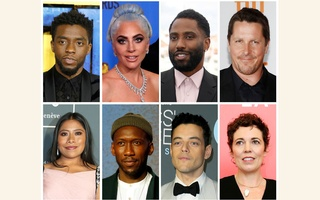 Best picture Oscar nominees for the 91st annual Academy Awards (Top L-R) Chadwick Boseman representing