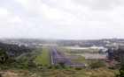 FILE PHOTO: A general view of the runway controlled by the Indian military is pictured at Port Blair airport in Andaman and Nicobar Islands, India, July 4, 2015. Reuters