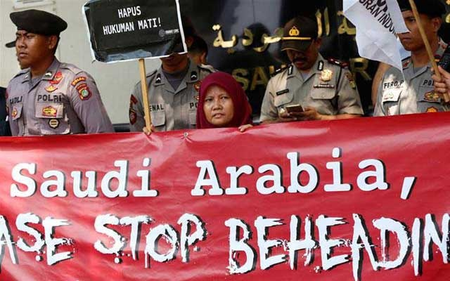 Filipino domestic worker executed in Saudi Arabia for murder