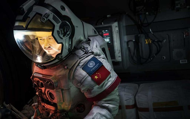 """Wu Jing in a scene from """"The Wandering Earth."""" The actor contributed money to the budget. The New York Times"""